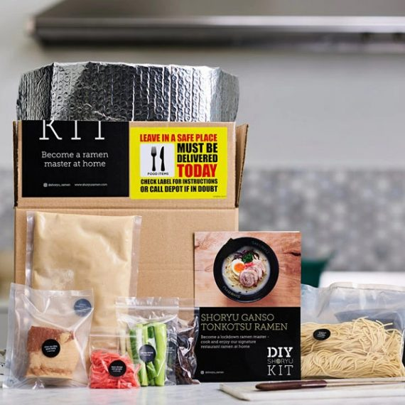 Plateaway - Shoryu DIY Ramen meal kit