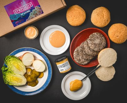 Plateaway - Symplicity at home burger kit
