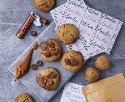DIY Kit Salted Caramel and Rolo | Blondies Kitchen
