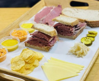 Reuben sandwich DIY kit - Brisket Bar London