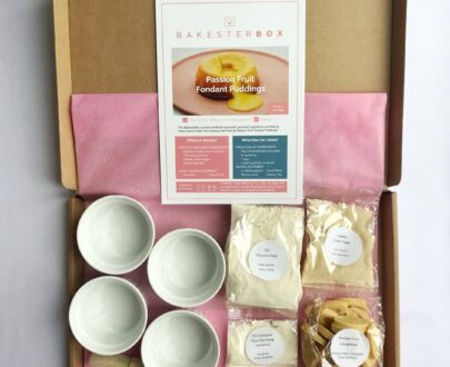 Passion fruit fondant Meal Kit | Bakester Box
