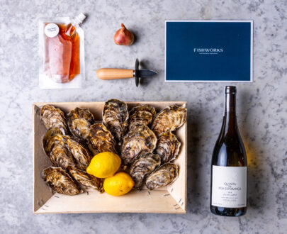 Oyster and Wine Box | FishWorks