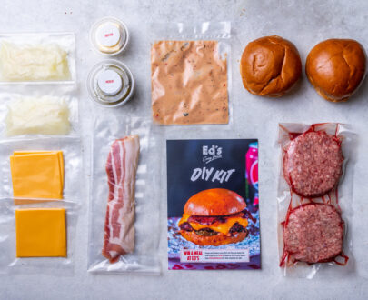 Eds Diner Meal Kit - By Plateaway
