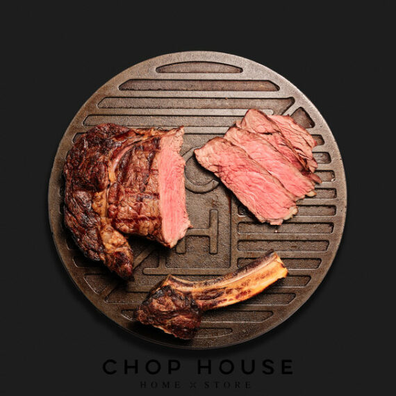 Bone In Rib Home Dining Kit - Chop House by Plateaway