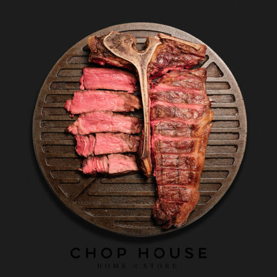 Porterhouse, Wine & Cocktails Home Dining Kit - Chop House by Plateaway