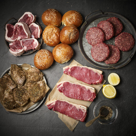 Ethical Butcher BBQ Kit for 6 people - By Plateaway