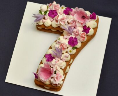 Mon Dessert Number 7 Cake By Plateaway