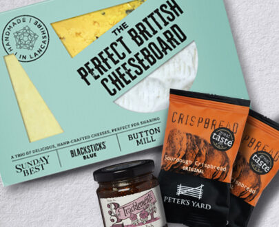 Perfect British Cheeseboard Letterbox