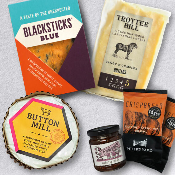 Showstopper Trio Letterbox Cheese Selection - By Plateaway