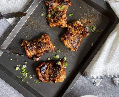 Yuzu miso chicken thighs Makes Miso Hungry by Plateaway