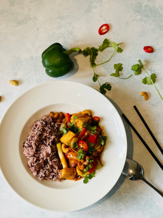 Sweet & Sour Tofy with Cashews Flavours by Jones - Plateaway