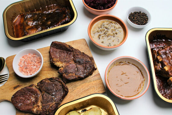 Sou-Chef BBQ Dinner date by Plateaway